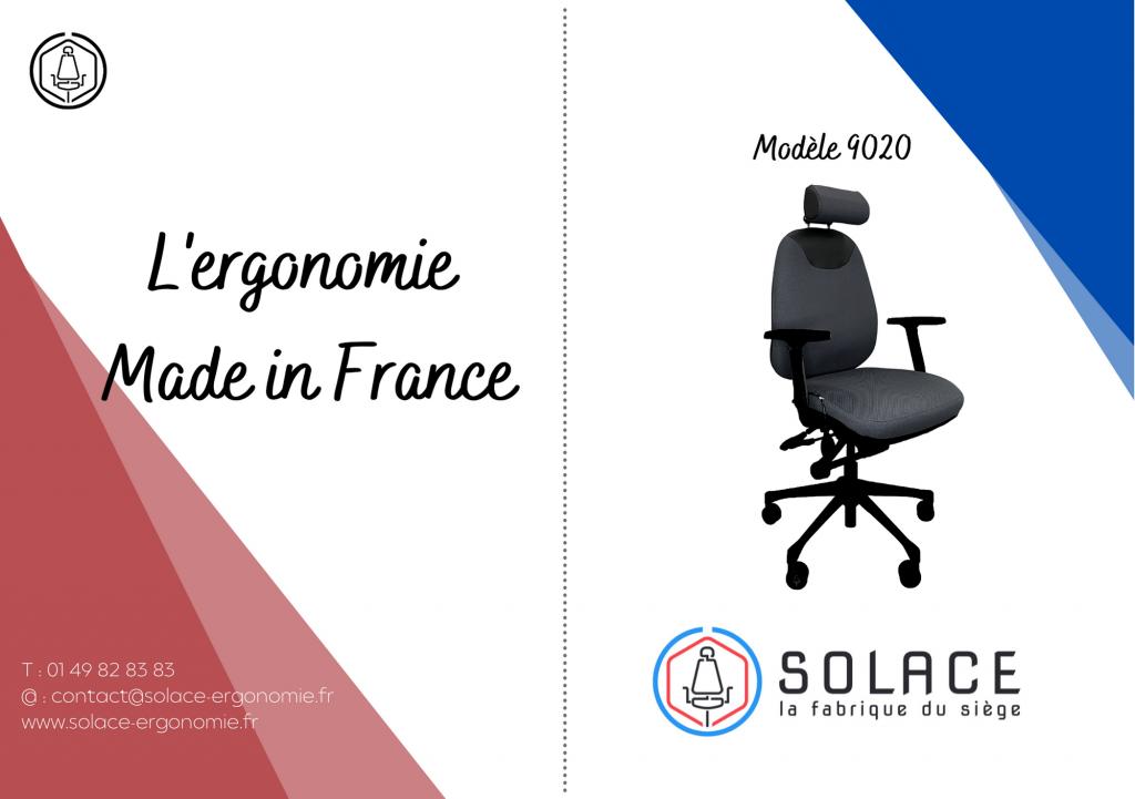 Notice Modèle Solace 9020