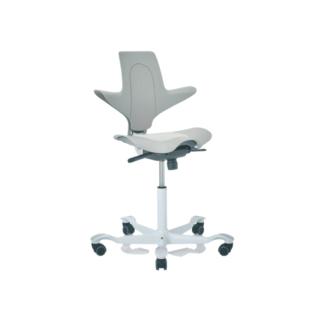 Chaise ergonomique Capisco Pulse HAG Blanc