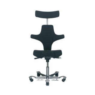 Chaise ergonomique Capisco HAG Noir
