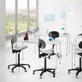 Chaise assis debout RH Support 4501 Gris laboratoire