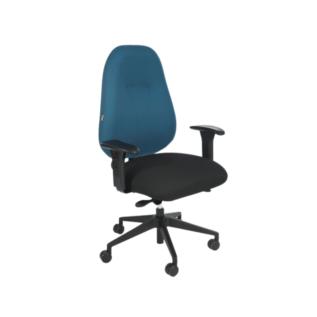 Chaise ergonomique HF2 Chiropod Spinal 300 Bleu