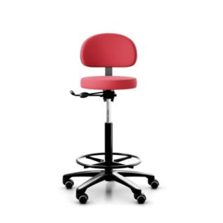 Chaise ergonomique assis debout RH Support 4501 Rouge
