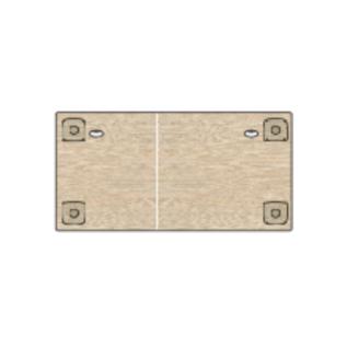 Plateau de table rectangulaire