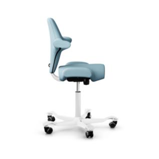 Chaise assis debout ergonomique Hag Capisco bleu clair