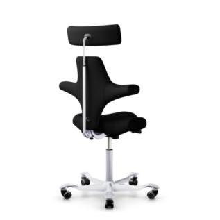 Chaise ergonomique Capisco HAG Noir Dos