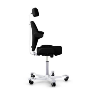 Chaise ergonomique Capisco HAG Noir cote