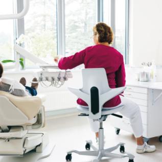 Chaise ergonomique Pulse dentiste