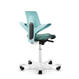 Chaise ergonomique assis debout Pulse HAG Vert d'eau Dos