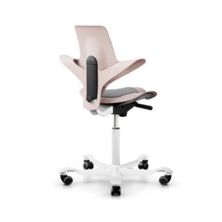Chaise assis debout ergonomique Puls HAG Rose