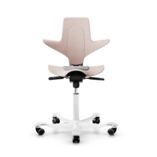 Chaise assis debout ergonomique Capisco Pulse HAG Rose