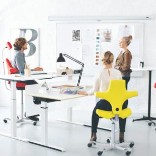 Chaise ergonomique Capisco bureau