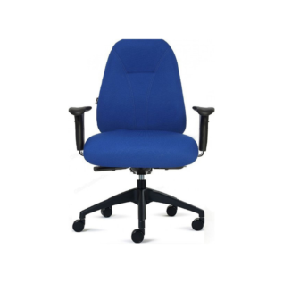 Chaise Ergonomique Spinal 600 Bleu
