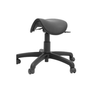 Chaise selle ergonomique Jockey noir