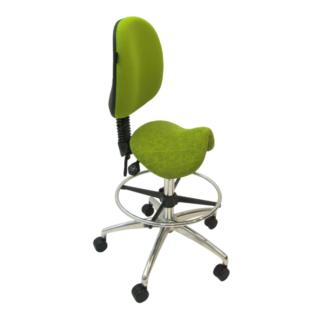 Chaise selle ergonomique Jockey vert