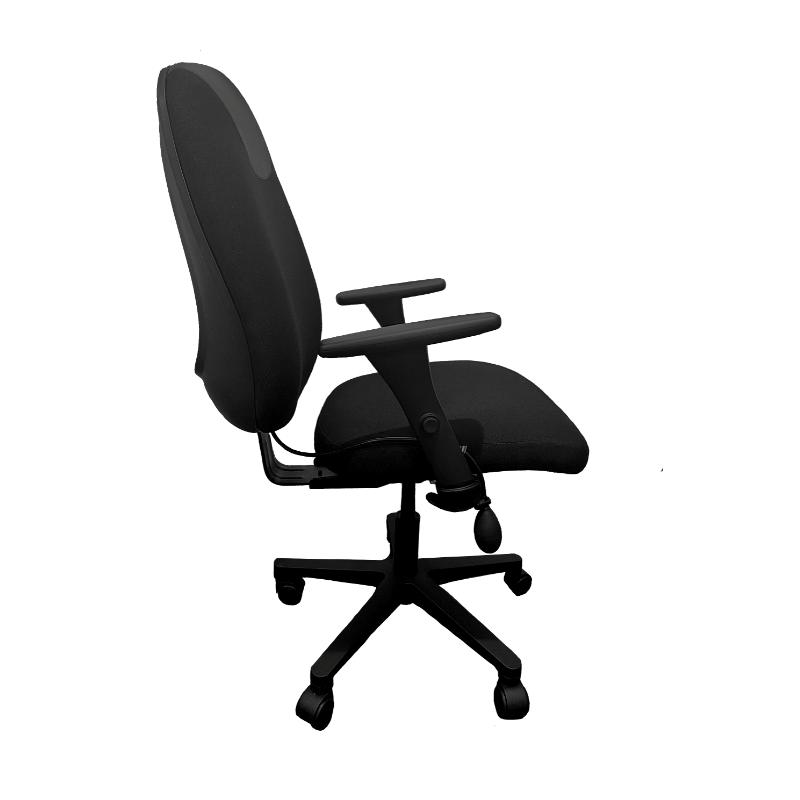 Chaise ergonomique Solace 9020 V4 Noir Coté