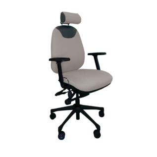 Chaise ergonomique Solace 9020 Gris Clair