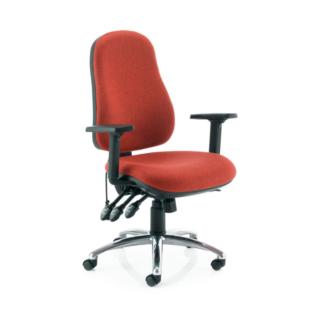 Chaise ergonomique E3.2 Standard Rouge