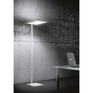 Silhouette lampadaire sur socle