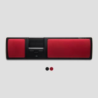 Souris ergonomique Mousestrapper centrale Lite Rouge design