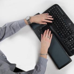 Souris ergonomique Mousestrapper centrale Lite bureau clavier