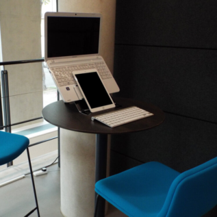 Support ordinateur portable Go Mobile Ergonomic Cafe