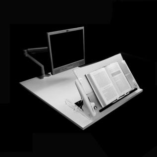 Pupitre de bureau Clear Slope Pro ergonomique