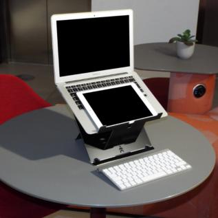 Réhausseur écran pc portable Uprise porte tablette