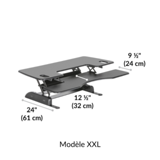 Support XXL Varidesk Pro Plus 48