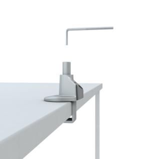 Fixation bureau bras support écran ergonomique EKI