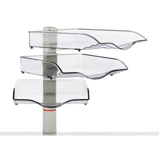 Support banettes 360° Novus: Système gain de place