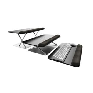 Plateforme ergonomique Scissor Lift pour clavier, ordinateur, bureau