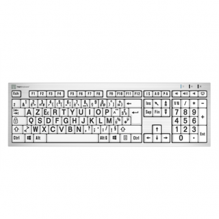 Clavier ergonomique LogicKeyBoard Grosses Touches