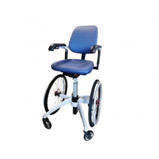 Fauteuil roulant ergonomique haut - Handicap TrippleWheels