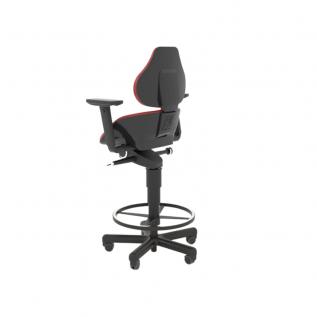 Chaise haute assis-debout Semisitting Integral avec accoudoirs