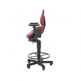 Tabouret ergonomique haut rembourré en mousse Semisitting Integral