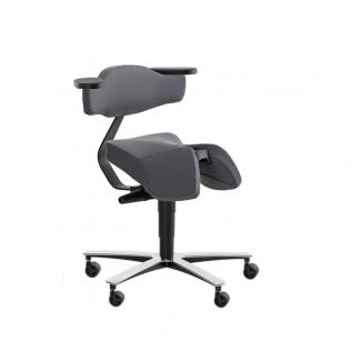 Siège selle assis-debout design solo 3660