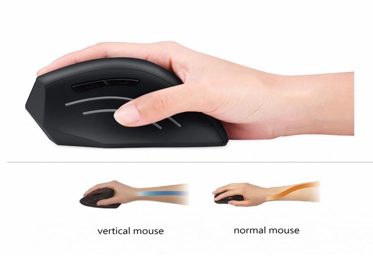 Perimice 608 souris verticale ergonomique