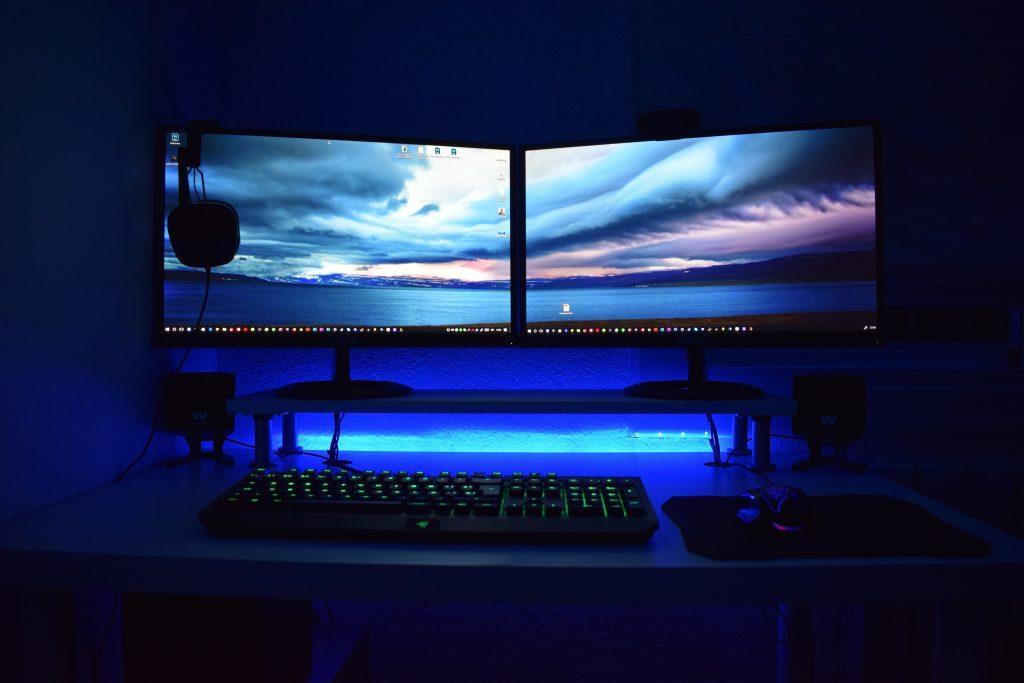 Lumière Bleu : Fatigue oculaire / Gaming