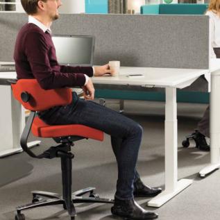 Siège de bureau ergonomique assis-debout SOLO 3760