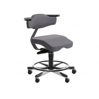 Chaise confortable sans pression cuisse pour bureau en hauteur Solo 3760
