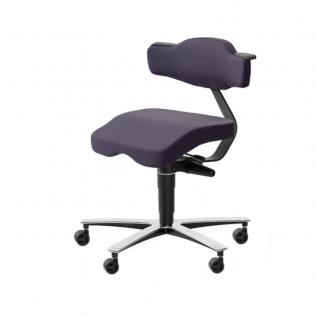 Chaise de bureau assis-debout SOLO 3670 Frapett BE-GE