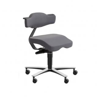 Chaise haute ergonomique avec dossier tete beche SOLO 3670