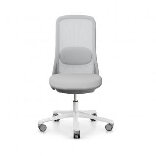 Chaise Sofi blanche design et ergonomique pour bureau personnel