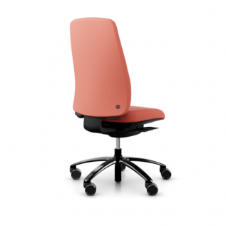Chaise de bureau confort rose Equi Logic 220 - gaming, fille, responsable, télétravail