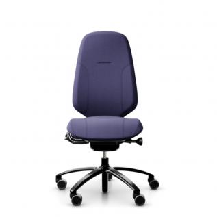 Chaise de bureau violette - Siege Mereo 300