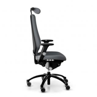 Siège ergonomique grande taille Logic 400 RH Flokk gris