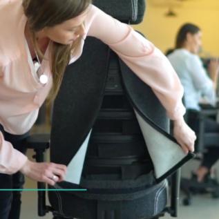 Technologie Sit and Move Therapod X chaise ergonomique THX Small