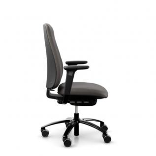 Siege de bureau confort marron ergonomique