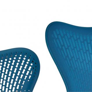 Siege papillon et triflex confort Bleu