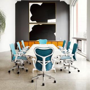 Salle de réunion avec siège personnalisé Mirra
